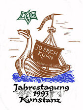 exlibris von E. Aulitzky DEG Jahrestagung Konstanz1993 op 289