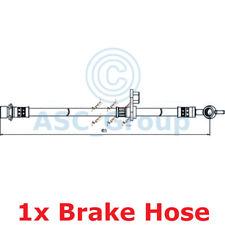 APEC BRAKING 455mm Scheibe Bremssattel flexibel GUMMISCHLAUCH hos4083