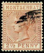 MONTSERRAT SG9, 2½d red-brown, FINE USED. Cat £65.