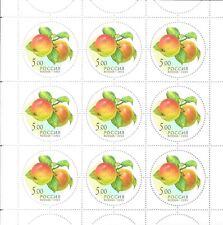 RUSSLAND RUSSIA 2003  MiNr: 1113 - 1117 ** MINI SHEET SET FRÜCHTE FRUITS PARFUM
