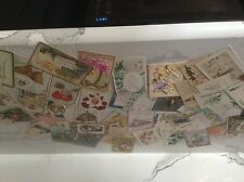 Lot of 100 Vintage Post Cards Germany~Tucks~Easter~ New Year~Birthday~Valentines