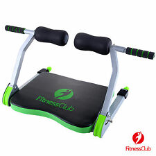 Abdominal Exercise Machine Smart Total Workout Fitness w/ Yoga Mat& DVD Home Gym