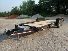 New Cam Superline Split Deck Tilt Trailer 13800 Gvwr Elec Brakes Tandem Axle