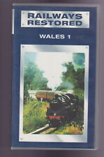 Railways Restored - Wales - Part 1 (VHS) Railway VHS Video tape