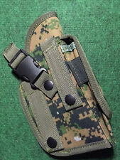 TAIGEAR MOLLE WOODLAND DIGITAL MOLLE Ambidextrous Pistol Holster Tactical #307W