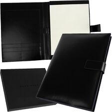 HUGO BOSS - A4 Writing Set Briefcase Portfolio Document Set Folder NEW