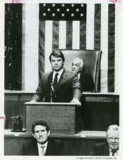 ROBERT URICH ADDRESSES CONGRESS PORTRAIT AMERIKA ORIGINAL 1986 ABC TV PHOTO