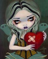 Mending a Broken Heart by Jasmine Becket-Griffith Art Print Gothic Heart Poster