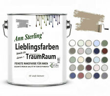 Wandfarbe Trendfarbe Innenfarbe LIEBLINGSFARBE Ann Sterling Farbe Farbig + Weiß