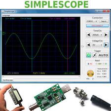 Simplescope 1 Channel PC Computer Digital USB Oscilloscope 1MSa/s Sampling