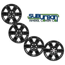 "2014-2019 GMC Sierra 1500 20"" GLOSS BLACK Wheel Skins Hubcaps IMP-426BLK SET/4"