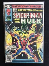 Marvel Team-up Annual #2 1979 Spider-man Hulk Comic Book Free Combined Shipping