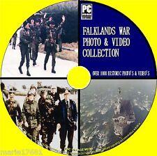 FALKLANDS WAR 1000 PHOTOS & 2 HOURS VIDEO UK/ARGENTINA WAR ARCHIVES NEW PC DVD