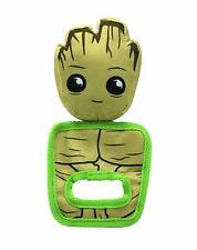 Marvel Comics GROOT PULL & PLAY SQUEAKY OXFORD DOG TOY - pet chew toy