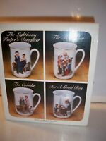 COLLECTOR'S MUG SET BY NORMAN ROCKWELL 1982