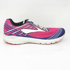 Brooks Womens Asteria 1202211B650 Pink Blue Running Shoes Lace Up Size 8 B