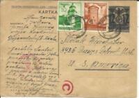 Poland GERMAN OCCUPATION-Postal Card HG:I53-Uprated Sc#N59,#N58-BRZESKO