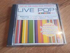 Various Artists-Top Of the Pops Mag Presents Live Pop Vol 1 CD