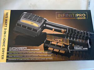 ⚡️INFINITIPRO BY CONAIR 1875 Watt 3-in-1. ⚡️