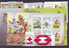 Slowenien Slovenia Slovenie 1998 year set, all stamps, postfrisch MNH