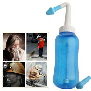 Rinse Wash Sinus Allergies Relief Neti Pot Waterpulse Cleaner Nose Nasal 300ml
