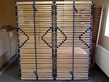 2x 7 Zonen Lattenrost Bluestar XXL NV - bis 200 KG Körpergewicht, 42 Federleiste