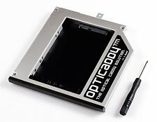 Opticaddy 2. SATA-3 HDD/SSD Caddy+placa frontal Lenovo Thinkpad W540