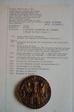 *** Goslar,  Stadtsiegel, 1240 - SIEGELABGUSS in BRONZE ***