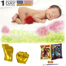 3D Plaster Handprint Footprint Baby Mould Hand&Foot Casting Prints Kit Cast Usa