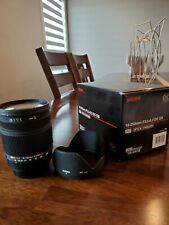 Sigma 18-250mm F3.5-6.3 DC OS HSM for Sony A-Mount 72mm w/Hood, Box, no lens cap