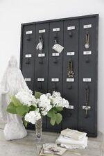Jeanne d 'arc Living*Notizboard Metall, black patina, Memoboard