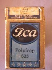 ICA Polyscop 605 Stereo Bildbetrachter ca. 1912/1920 zus.m.Sammlung S/W Stereo-G