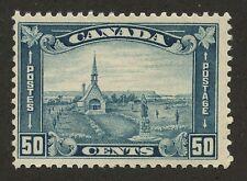 Canada 1930 KGV Arch/Leaf issue Grand Pre 50c dull blue 176 MNH