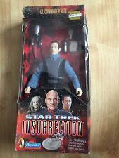 STAR TREK INSURRECTION LT. COMMANDER DATA 1998 - UNUSED / BOXED