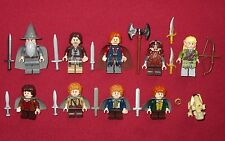 LEGO LOTR Minifigures FELLOWSHIP OF THE RING LOT Gandalf,Boromir,Merry,Pippin +