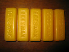 Beeswax blocks 100% pure and organic, from a U.S. beekeeper, FREE SHIPPING 5.5oz