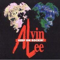 "ALVIN LEE ""KEEP ON ROCKIN"" CD NEW"