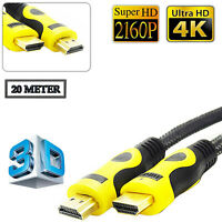 20M Premium V1.7 HDMI Cable High Speed 2160p Ultra HD