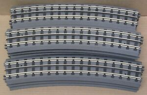 MTH Realtrax 40-1010 O-72 Curve Track 13x (Solid Rail) O-Gauge USED
