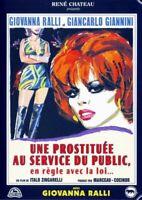 Une Prostituta Au Servicio Del Ocio en Regla con el Ley DVD Nuevo en Blíster
