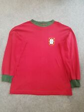 Portugal 1966 world cup Home Football Shirt Long Sleeved Toffs Size Medium