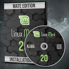 NEU: Linux Mint 20.2 MATE Betriebssystem DVD inkl. Anleitung Markenware