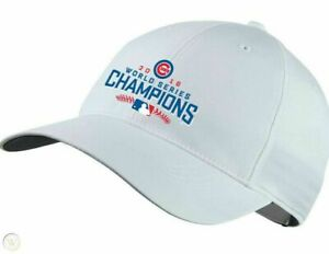 New Chicago Cubs Nike 2016 World Series Champions Legacy91 Tech Golf Hat