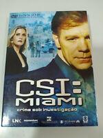 CSI Miami Fifth Season Episodes 5.13-5.24 - 3 x DVD Ingles Portugues