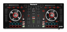 Numark Mixtrack Platinum - DJ Controller with Jog Wheel Display for Serato DJ