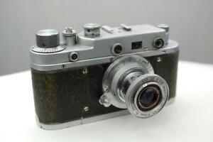 Zorki C camera with 5cm  f3.5 Industar lens, good