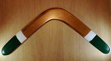 Handmade throwaback wooden boomerang #08