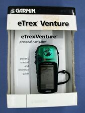 Garmin eTrex Venture GPS Personal Navigator with Manual