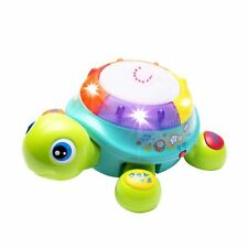 Musical Turtle Toy, English & Spanish Learning, Electronic Toys w/ Lights & S...