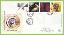 G.B. 1999 Inventors Tale set on Royal Mail First Day Cover, James Watt Dock cds